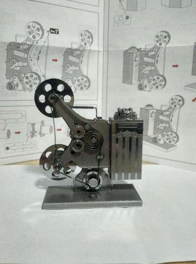 3D金属拼装模型 拼酷玩具 立体拼装模型 军事模型 坦克战车模型 德国四号坦克军用悍马等 布雷德利步兵战车银色+普通工具 晒单图