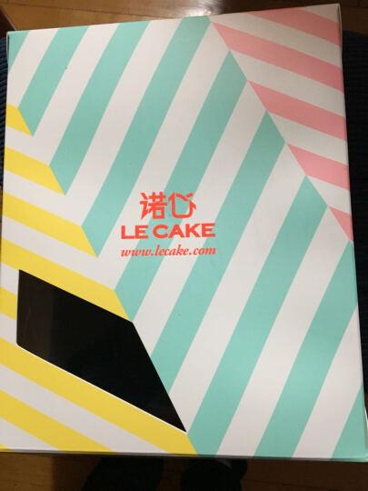 诺心 LECAKE 巧克力松露蛋糕 生日蛋糕 2磅 晒单图
