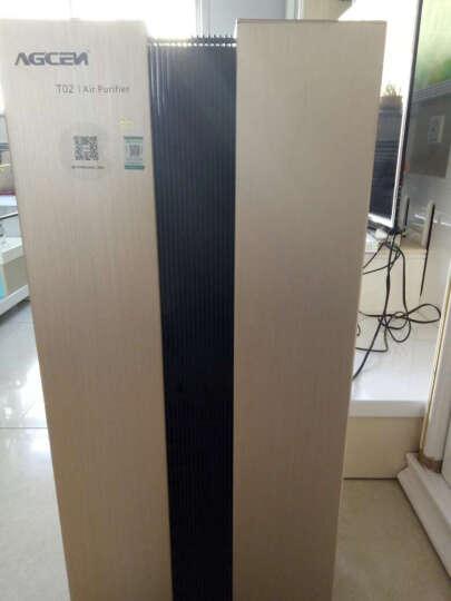 艾吉森(AGCEN) 高端智能wifi远程家用空气净化器T02 除甲醛雾霾烟尘PM2.5 深空灰 晒单图