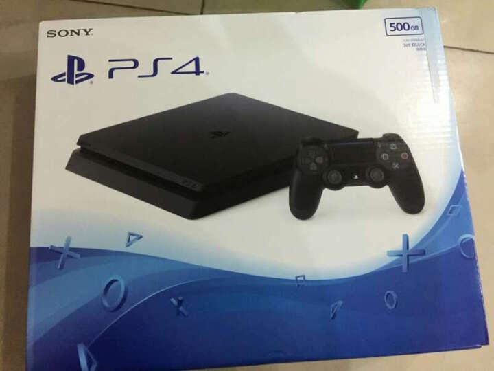 索尼/SONY PlayStation 4 电脑娱乐游戏主机PS4 游戏机 PS4 Slim黑色500G 单手柄 晒单图