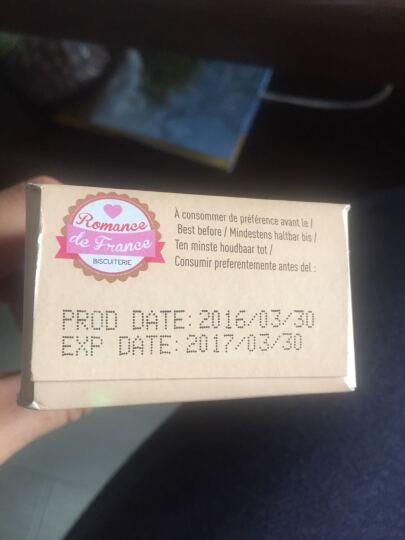 法之恋 黄油饼干125g 法国原装进口 休闲零食 晒单图