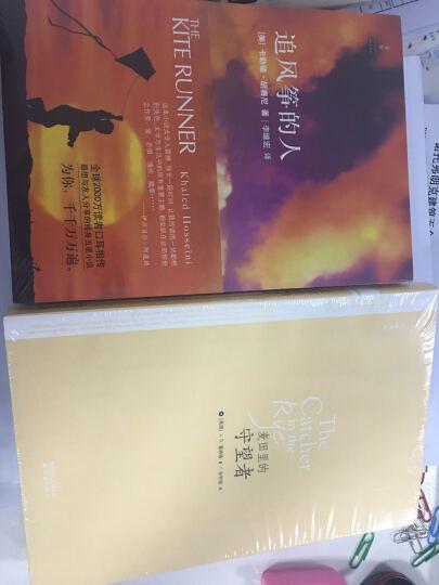 麦田里的守望者(中英文对照)+追风筝的人 塞林格 文学 书籍 晒单图
