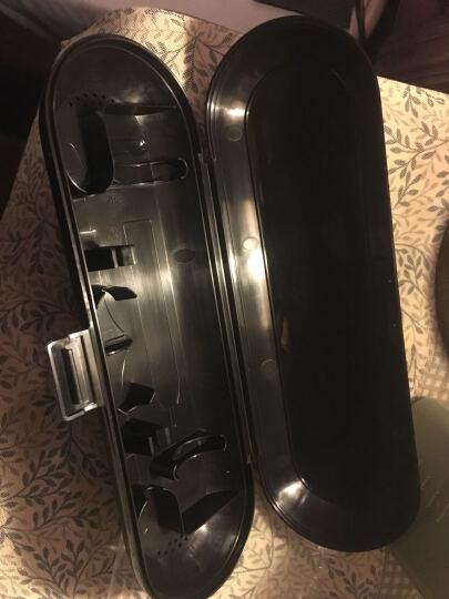 飞利浦(PHILIPS) 电动牙刷 青春正畸 声波震动(自带刷头*3+牙刷盒) 黑色 HX6223/61 晒单图