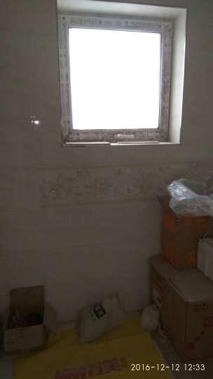 万美瓷砖 厨房卫釉面砖 生间瓷砖全抛釉 厨房地砖墙面砖 300*600花片WP7013AM-1 晒单图
