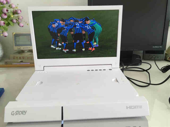 G-STORY GS116M 专业高清电子竞技游戏显示器PS4专用 白色 晒单图