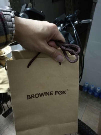 BROWNEFOX女士钱包牛皮真皮长款手拿包多功能韩版潮流卡包手机包 BF-NB6039 6039女款木槿紫 晒单图