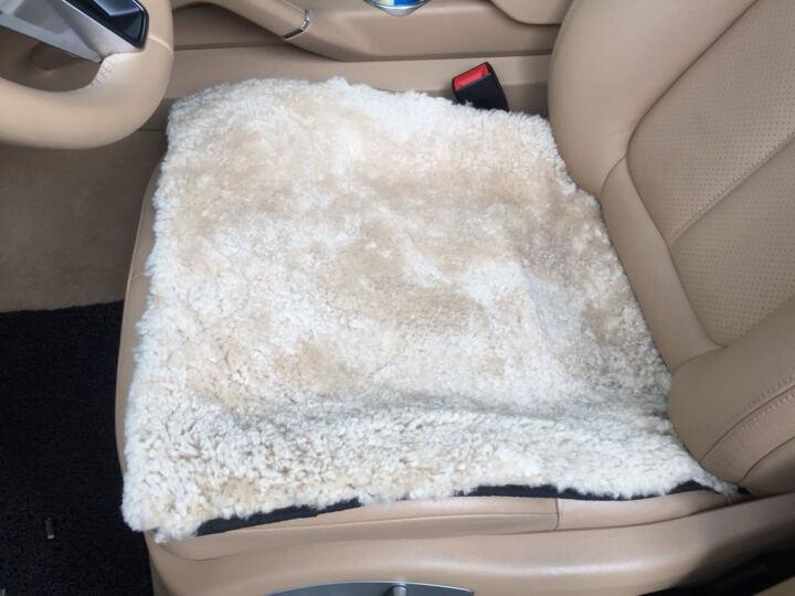 AUSKIN澳世家椅垫坐垫卷花羊毛简约现代 巴斯椅垫-淡奶黄 SN 50x50cm 晒单图