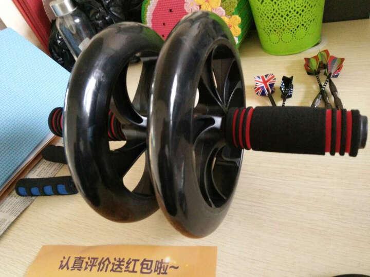 帝威静音健腹轮 200mm巨轮腹肌轮收瘦腰腹轮滚轮健腹器 黑色 其他中小型器材 巨轮/送握力器一只+跪垫 晒单图