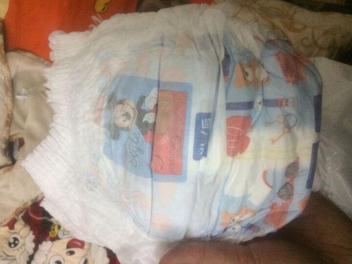 妈咪宝贝(MamyPoko) 小内裤【男】加大号XL128片【12-17kg】婴儿尿不湿电商箱装 晒单图