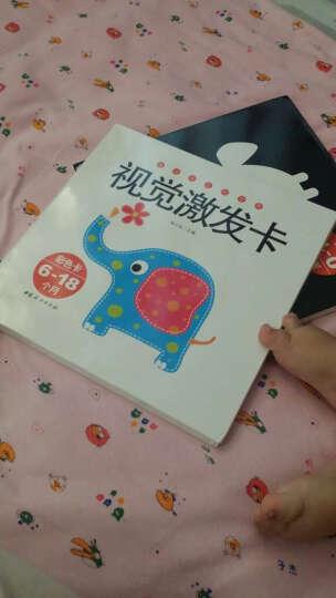 婴幼儿视觉激发卡系列:黑白卡(0-12个月)+彩色卡(6-18个月)(套装共2册) 晒单图