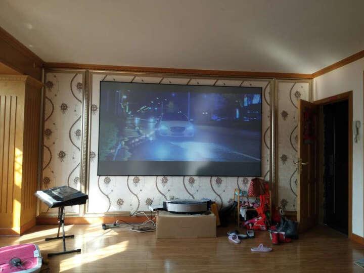 【送抗光屏】坚果S1/S21/S3超短焦激光电视智能投影机3D家用1080P全高清4K家庭影院 坚果S1+120英寸抗光屏幕 晒单图