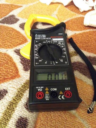 华仪仪表(MASTECH) M266F数字交流钳形表万用表数字钳形电流表电压电阻 晒单图