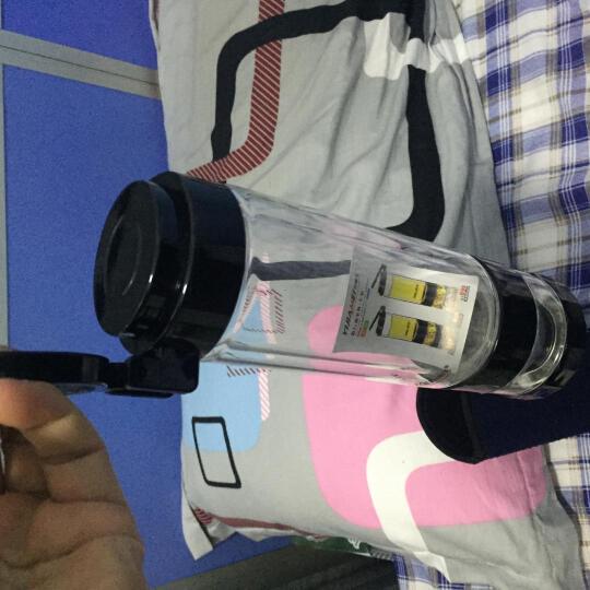 宜加美玻璃杯双层隔热茶水分离男士办公杯车载泡茶杯防漏过滤玻璃杯 支持批量订制印字 B99双层560ml(赠杯套+杯刷) 晒单图