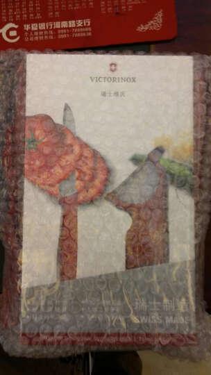 维氏VICTORINOX瑞士军刀厨刀系列 瑞士原产水果刀刨皮器 二件套居家商务礼盒CN.KK1510.SET喜庆红 晒单图