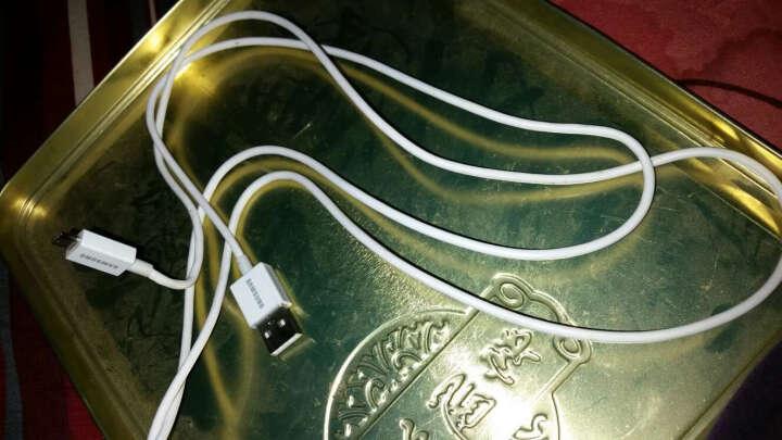 三星 数据线原装正品安卓2A快充/充电线s7/s6edge+note3/5s5A9 快充1.5米白色数据线(安卓通用) 晒单图