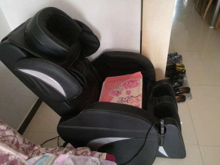 鼎宏(dinghong) 按摩椅家用 太空舱零重力全身多功能按摩椅 黑色 晒单图