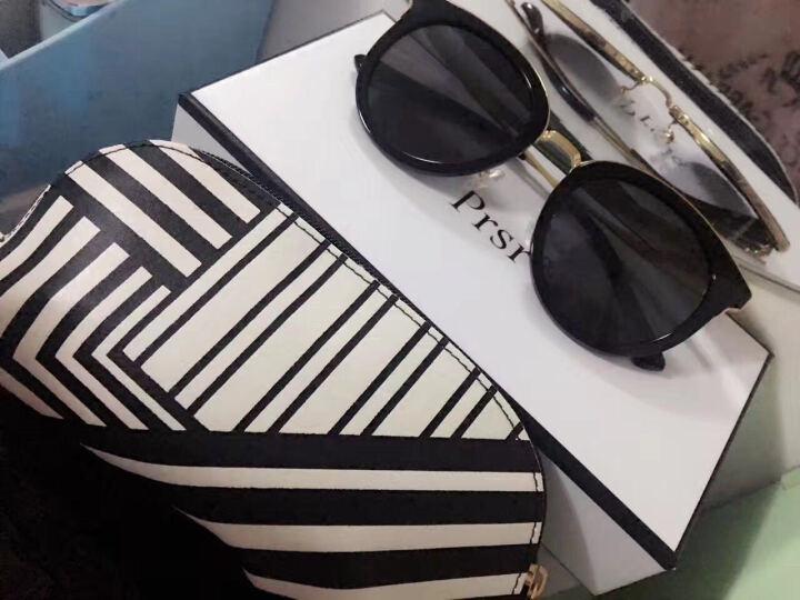 帕莎 太阳镜女2017春季新款偏光太阳镜大框显脸小T60094 T020-G时尚灰(镜片不反光) 晒单图