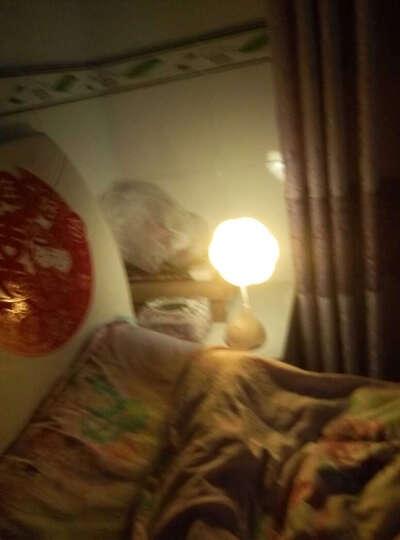 可爱卡通宝宝卧室床头小台灯 USB充电触摸调光小夜灯 婴儿喂奶灯儿童创意礼物生日礼品 黄色 晒单图