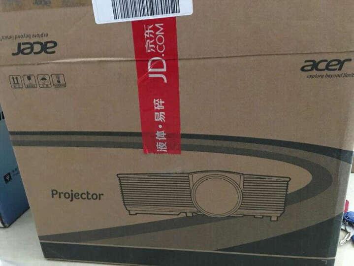 宏碁(acer)极光 D600D+ 办公 投影机 投影仪(SVGA分辨率 3300流明 HDMI) 晒单图
