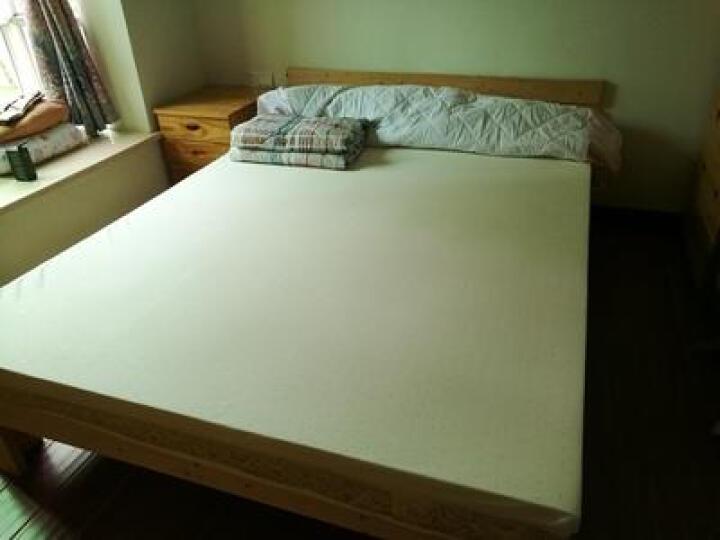 天梦之夜 床垫泰国天然乳胶床垫 海绵床垫 3D 3E纯棉面料环保透气网布床垫 可定制 1.2*2米【纯乳胶85D】【7.5厘米】 晒单图