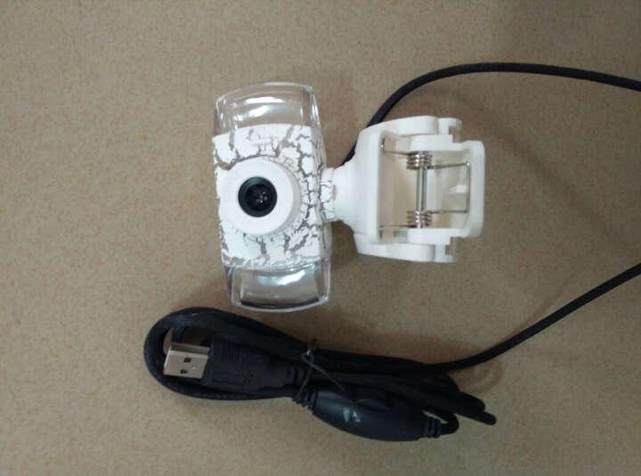 科普斯 发光摄像头 免驱高清台式电脑视频 笔记本带麦克风话筒 黑色 晒单图