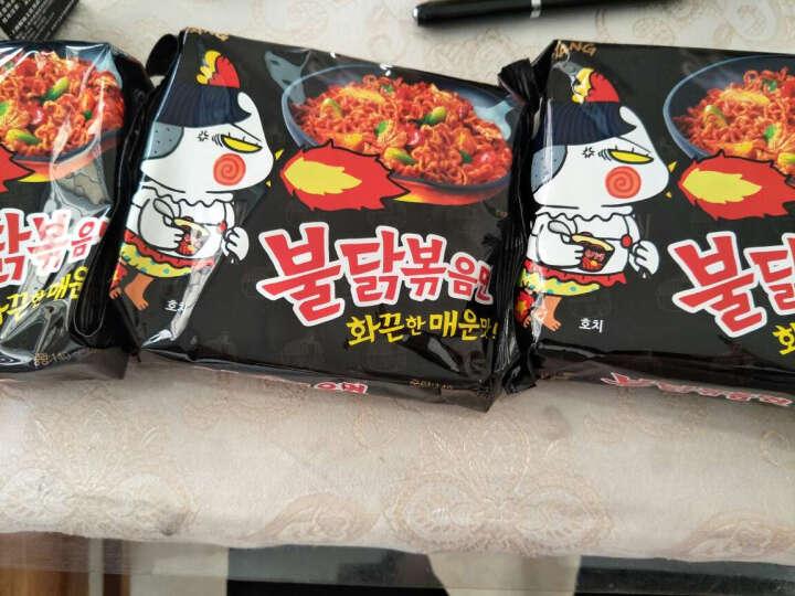 韩国进口三养火鸡/芝士火鸡/咖喱火鸡/杂酱面(5连包)超辣鸡肉味拉面拌面 咖喱火鸡面140gx5包 晒单图