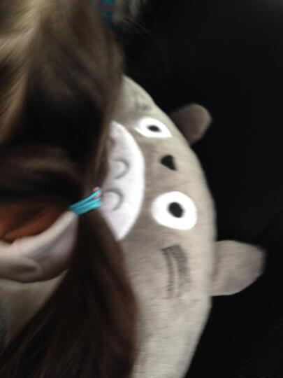七夕情人节礼物女孩男孩创意玩具 U型枕护颈枕耳机枕头音乐抱枕 送女友老婆爱人闺蜜男朋友生日 龙猫 中号 晒单图