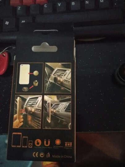 大地飞歌 车载手机支架 磁铁吸盘性汽车导航手机 360度旋转手机座 全金属车载 车用磁性 法拉利 金色 晒单图