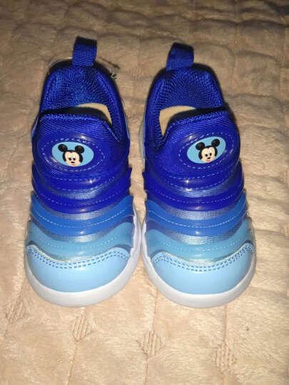 迪士尼 Disney 宝宝学步鞋运动鞋 毛毛虫童鞋休闲鞋0089粉色150mm/内长145mm 晒单图