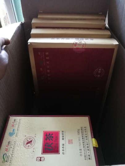 湘益湖南黑茶安化黑茶金花万福侯礼盒茯砖茶益阳厂黑茶包邮2000g 一盒 晒单图