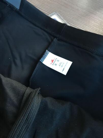 英发(YINGFA)泳裤 男士舒适不贴身温泉度假平角游泳裤 抗氯舒适泳装3533-1黑 XL码 晒单图