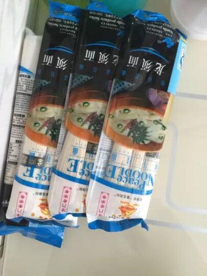 和平龙须面200g*4袋挂面汤面 天津特产老字号 3分钟即熟速食面条 筋道不浑汤 晒单图