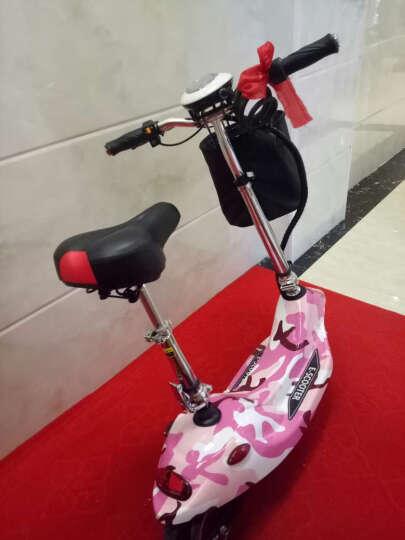 龙吟 女士迷你电动车电动滑板车成人电动自行车小海豚电瓶车代步车 浅绿+续航50km+5重好礼 晒单图