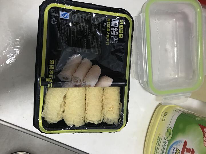 【一稞一豆供港 响铃卷】油炸豆皮卷 石磨豆腐皮火锅食材方便火锅料 晒单图