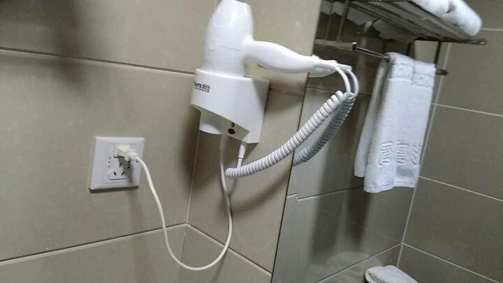永日(yongri)6610酒店挂壁式共享电吹风机家用浴室宾馆卫生间壁挂式干发器 白色 晒单图