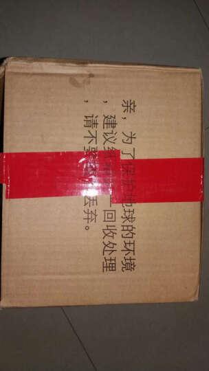 HAIXIN 冰箱收纳保鲜盒 塑料长方形微波食品储物盒 蓝色 1层+1盖 晒单图