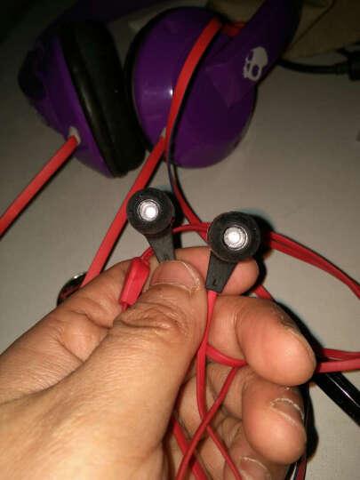 全球购 美国 Skullcandy Ink'd 2 骷髅头通用入耳式耳机 带麦 蓝色 晒单图
