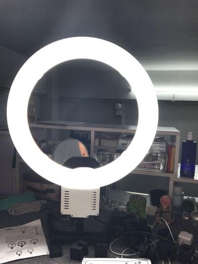 南冠NG-65C环形摄影灯 眼神灯 美瞳 美妆 面妆 彩妆主播直播补光灯 人像美颜摄影补光 配单反支架 晒单图