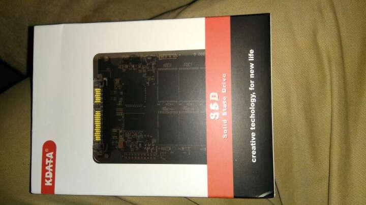 KDATA 金田60G120G240G32G SSD固态硬盘SATA3笔记本台式机电子硬盘 非64G 32G+台式机金属支架 晒单图