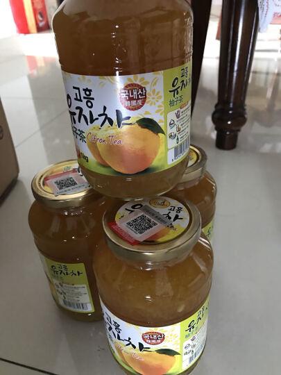 韩国进口 Kbeautea 蜂蜜柚子茶1000g/瓶 晒单图