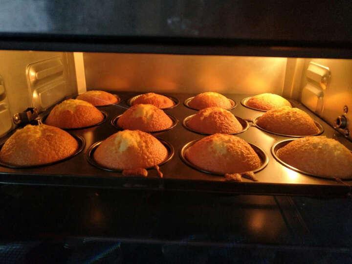 杰凯诺 玛芬纸杯蛋糕模12连杯 碳钢不粘涂层模具 烘焙工具 送油纸杯 加大模具务必量好尺寸 晒单图