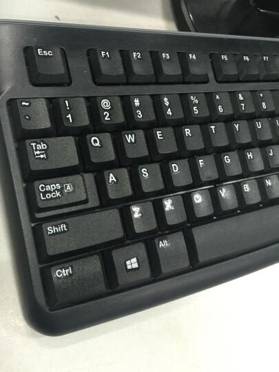 罗技(Logitech)MK120 键鼠套装 鼠标键盘套装 黑色 晒单图