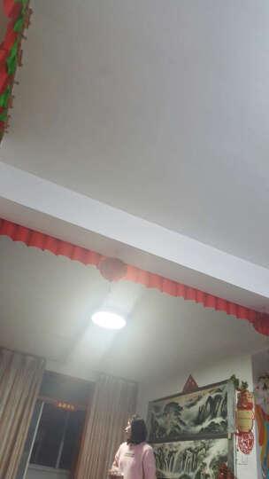 松下(panasonic)灯具客厅灯吸顶灯三基色荧光灯圆形简约灯饰灯具72瓦 72W透明饰框HAC7502KE 晒单图