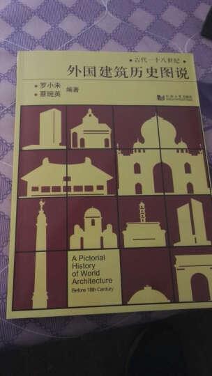 外国建筑历史图说+中国古代建筑历史图说罗小未(中外建筑史图说 共两册)  晒单图