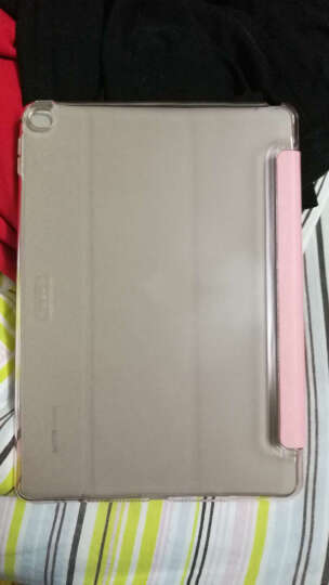 亿色(ESR) 苹果iPad Air2/6保护套/壳 轻薄防摔三折支架皮套 咔Q系列 桃心粉公主【不适用iPad Air和iPad2】 晒单图