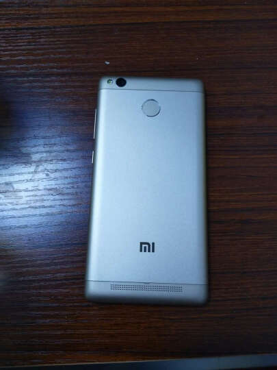 小米 红米3S 全网通4G智能手机 移动联通电信4G手机 三网通用 双卡 经典深灰色 全网通版(2G+16G) 晒单图