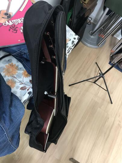 kepma 卡马 吉他民谣木吉他初学者乐器 缺角41寸 D1CE日落色电吉他 晒单图