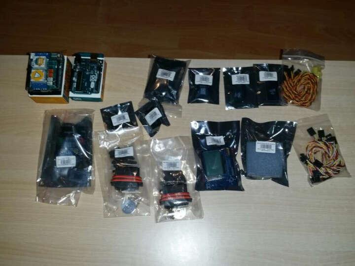 奥松机器人 Arduino LCD12864液晶摇杆扩展板 液晶屏 智能机器人 晒单图