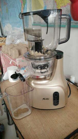 安蜜尔(ANMIR)商用原汁机榨汁机大口径果汁机不加水渣汁分离榨蔬菜水果汁机 红色 晒单图