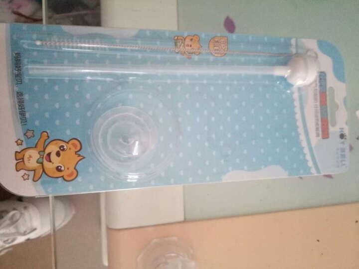 好伊贝(HOY BELL) 奶瓶吸管瓶配件适合玻璃奶瓶PP塑料奶瓶吸管配件 标口吸管 晒单图